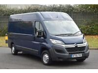 2.0 35 L3H2 ENTERPRISE BLUE HDI 5D 129 BHP EURO 6 AIR CON H/ROOF LWB DIESEL VAN