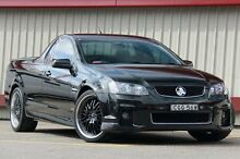 2012 Holden Commodore VE II MY12 SV6 Thunder Black 6 Speed Automatic Utility Homebush Strathfield Area Preview