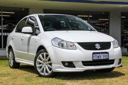 2012 Suzuki SX4 GYC MY10 S White 6 Speed Constant Variable Sedan Victoria Park Victoria Park Area Preview