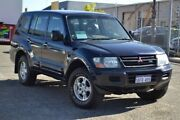 2002 Mitsubishi Pajero NM MY2002 GLS Blue 5 Speed Sports Automatic Wagon Pearsall Wanneroo Area Preview