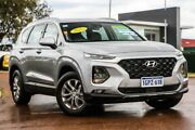 2018 Hyundai Santa Fe TM MY19 Active Typhoon Silver 6 Speed Sports Automatic Wagon Rockingham Rockingham Area Preview