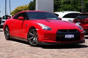2010 Nissan GT-R R35 Premium DCT AWD Red 6 Speed Sports Automatic Dual Clutch Coupe Osborne Park Stirling Area Preview
