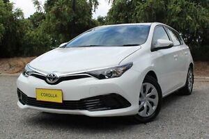 2015 Toyota Corolla ZRE182R Ascent S-CVT White 7 Speed Constant Variable Hatchback Hawthorn Mitcham Area Preview