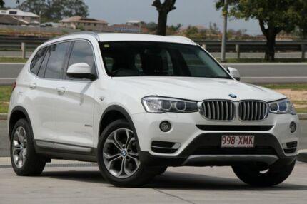 2015 BMW X3 F25 LCI xDrive20d Steptronic White 8 Speed Automatic Wagon