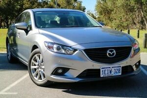 2013 Mazda 6 GJ1031 Touring SKYACTIV-Drive Aluminium 6 Speed Sports Automatic Sedan Wilson Canning Area Preview