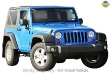 2012 Jeep Wrangler JK MY2012 Sport Yellow 6 Speed Manual Softtop Gymea Sutherland Area Preview