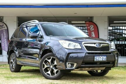 2014 Subaru Forester S4 MY14 XT Lineartronic AWD Premium Black 8 Speed Constant Variable Wagon Victoria Park Victoria Park Area Preview