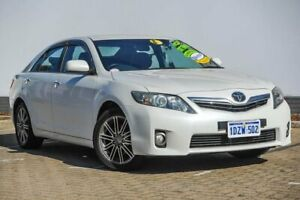 2010 Toyota Camry AHV40R MY10 Hybrid Luxury White 1 Speed Constant Variable Sedan Hybrid