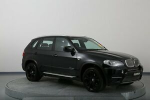2010 BMW X5 E70 MY11 xDrive40d Steptronic Sport Black 8 Speed Sports Automatic Wagon Old Guildford Fairfield Area Preview