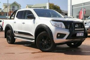2018 Nissan Navara D23 S3 ST Black Edition Silver 7 Speed Sports Automatic Utility Clarkson Wanneroo Area Preview