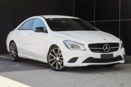 2014 Mercedes-Benz CLA200 C117 DCT White 7 Speed Sports Automatic Dual Clutch Coupe