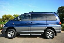 2001 Mitsubishi Delica SPACE GEAR Blue 4 Speed Automatic Van Enfield Port Adelaide Area Preview