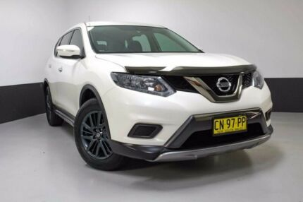 2016 Nissan X-Trail T32 ST X-tronic 4WD N-SPORT Black White 7 Speed Constant Variable Wagon
