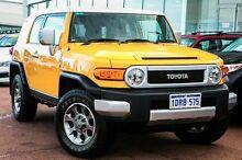 2011 Toyota FJ Cruiser GSJ15R Hornet Yellow 5 Speed Automatic Wagon Wangara Wanneroo Area Preview