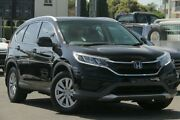 2015 Honda CR-V RM Series II MY17 VTi Black 5 Speed Automatic Wagon Nundah Brisbane North East Preview