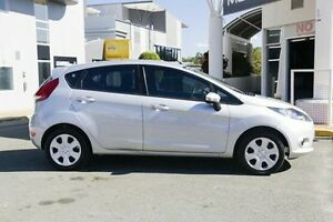 2012 Ford Fiesta WT CL PwrShift Silver 6 Speed Sports Automatic Dual Clutch Hatchback Hillcrest Logan Area Preview