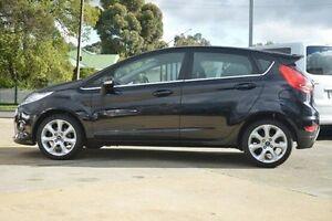 2010 Ford Fiesta WT Zetec Black 5 Speed Manual Hatchback Hillcrest Port Adelaide Area Preview