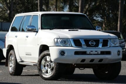 2013 Nissan Patrol Y61 GU 9 ST White 4 Speed Automatic Wagon Beaudesert Ipswich South Preview