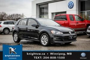 2015 Volkswagen Golf Comfortline w/ Sunroof/Backup Cam 0.99% Fin