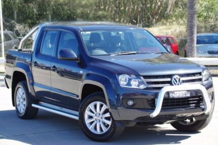 2012 Volkswagen Amarok Blue Manual Utility