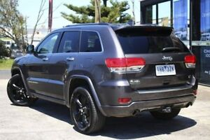 2016 Jeep Grand Cherokee WK MY15 Overland Grey 8 Speed Sports Automatic Wagon