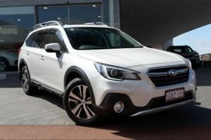 2018 Subaru Outback B6A MY18 3.6R CVT AWD Crystal White 6 Speed Constant Variable Wagon Wangara Wanneroo Area Preview