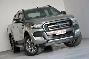 2016 Ford Ranger PX MkII Wildtrak Double Cab Silver 6 Speed Sports Automatic Utility Kedron Brisbane North East Preview