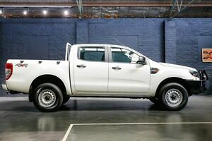 2015 Ford Ranger PX MkII XL Double Cab White 6 Speed Sports Automatic Utility Northbridge Perth City Area Preview