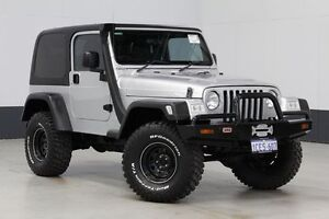 2005 Jeep Wrangler TJ Sport (4x4) Silver 5 Speed Manual 4x4 Hardtop Bentley Canning Area Preview