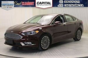 2017 Ford Fusion SE AWD*Leather*Nav*Sunroof*