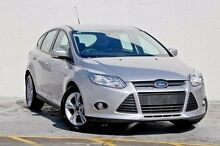 2014 Ford Focus LW MKII Trend PwrShift Silver 6 Speed Sports Automatic Dual Clutch Hatchback Springwood Logan Area Preview