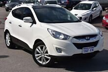 2011 Hyundai ix35 LM MY11 Highlander AWD White 6 Speed Sports Automatic Wagon Myaree Melville Area Preview