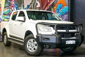 2015 Holden Colorado RG MY16 LT Crew Cab White 6 Speed Sports Automatic Utility Northbridge Perth City Area Preview