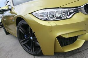 2014 BMW M4 F82 Yellow 7 Speed Auto Dual Clutch Coupe Petersham Marrickville Area Preview