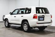 2016 Toyota Landcruiser VDJ200R GX White 6 Speed Sports Automatic Wagon Welshpool Canning Area Preview