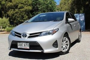 2013 Toyota Corolla ZRE182R Ascent S-CVT Silver 7 Speed Constant Variable Hatchback Hawthorn Mitcham Area Preview