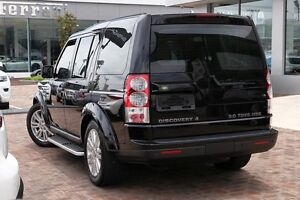 2010 Land Rover Discovery 4 Series 4 10MY TdV6 CommandShift HSE Black 6 Speed Sports Automatic Wagon Osborne Park Stirling Area Preview