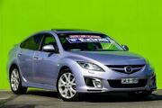 2008 Mazda 6 GH1051 Luxury Sports Silver 5 Speed Sports Automatic Hatchback Ringwood East Maroondah Area Preview