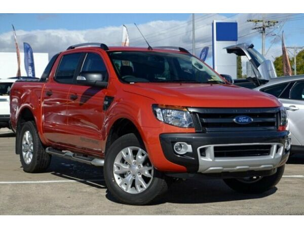 Ford Ranger 4x4 2014 Orange 2014 Ford Ranger px Wildtrak