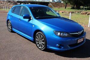 2009 Subaru Impreza G3 MY09 RS AWD Blue 5 Speed Automatic Hatchback The Gardens Darwin City Preview