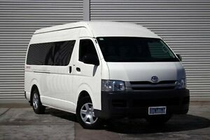 2010 Toyota Hiace KDH221R MY10 Super LWB White 4 Speed Automatic Van Seaford Frankston Area Preview
