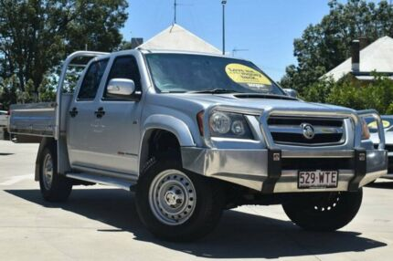 2009 Holden Colorado RC MY09 LX Crew Cab Silver 5 Speed Manual Cab Chassis
