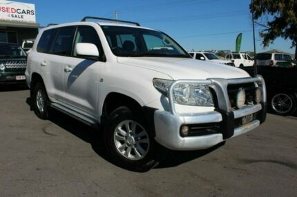 2011 Toyota Landcruiser UZJ200R MY10 GXL White 5 Speed Sports Automatic Wagon Tingalpa Brisbane South East Preview