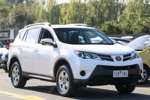 2013 Toyota RAV4 ZSA42R GX 2WD White 7 Speed Constant Variable Wagon Ringwood East Maroondah Area Preview