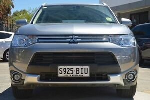 2014 Mitsubishi Outlander ZJ MY14.5 PHEV ASPIRE Grey 1 Speed Automatic Wagon Hillcrest Port Adelaide Area Preview