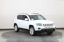 2014 Jeep Compass MK MY14 Limited (4x4) White 6 Speed Automatic Wagon Smithfield Parramatta Area Preview