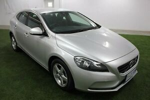 2013 Volvo V40 M Series MY13 D2 Kinetic Silver 6 Speed Manual Hatchback Moonah Glenorchy Area Preview