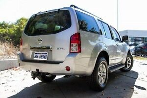 2007 Nissan Pathfinder R51 MY07 ST-L Silver 5 Speed Sports Automatic Wagon Glendalough Stirling Area Preview