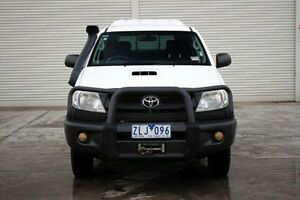 2008 Toyota Hilux KUN26R MY09 SR White 5 Speed Manual Utility Seaford Frankston Area Preview