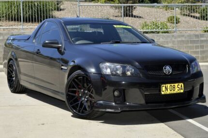 2009 Holden Commodore VE MY10 SV6 Black 6 Speed Automatic Utility